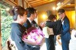 感謝を伝える結婚式