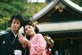 2009年11月21日 よしのりサン・けいこサン 比治山神社〜豆匠