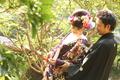 2011年10月9日 比治山神社〜豆匠 のぞむサン・なみえサン