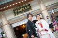 2014年10月27日 かつなりさん・たえこさん 護国神社〜豆匠