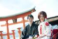 2012年11月2日 のぶきさん・ともこさん 厳島神社〜石亭