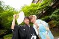 2012年5月9日 ゆうきさん・のりこさん 厳島神社〜弁天の宿いつくしま