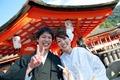 2012年9月25日 げんきさん・あすかさん 厳島神社〜弁天の宿いつくしま