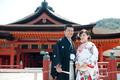 2011年4月20日 よしゆきサン・かよこサン 厳島神社〜錦水館