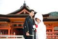 2010年10月22日 ゆうすけサン・みかサン 厳島神社〜錦水館