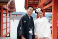 2011年8月6日 ゆきたかサン・あやサン 厳島神社〜弁天の宿いつくしま