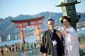 2012年11月27日 ひであきさん・りょうこさん 厳島神社〜錦水館