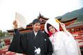 2012年10月31日 いずみさん・まりさん 厳島神社〜弁天の宿いつくしま