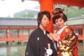 2009年11月10日 のりよしサン・ひろこサン 厳島神社〜弁天の宿いつくしま