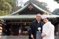 2012年1月14日 せいじさん・みきさん 比治山神社〜桜下亭