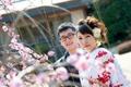 2012年3月14日 こうへいさん・なほさん 厳島神社〜石亭