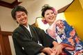 2012年9月2日 ゆくやさん・ちえさん 厳島神社〜錦水館