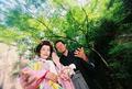 2008年9月25日 ともたかサン・ようこサン 厳島神社
