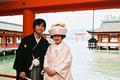 2007年5月23日 としなりサン・さゆきサン 厳島神社