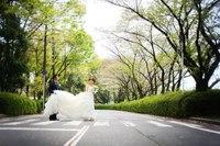 ビートルズジャケット風(中央公園)