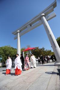 広島護国神社 挙式