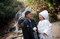 大頭神社挙式 妹背の滝