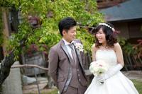 石亭結婚式 ドレス