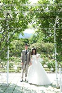 ロケーション前撮り 植物公園 広島