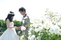 ロケーション前撮り 広島 植物公園